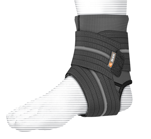 Shock Dr Ankle Sleeve with Compression Wrap (Large) image