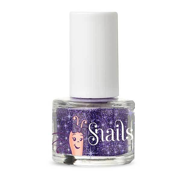 Snails: Glitter Top Coat - Purple Blue