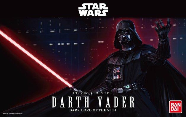 Star Wars 1/12 Darth Vader - Scale Model Kit