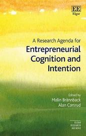 A Research Agenda for Entrepreneurial Cognition and Intention image