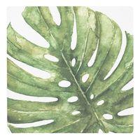 Botanical Ceramic Coaster - Monstera