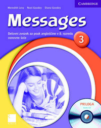 Messages 3 Workbook with Audio CD Slovenian Edition: Level 3 by Diana Goodey image