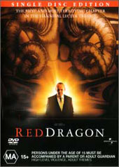 Red Dragon (Single Disc) on DVD