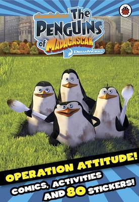 Operation Attitude Comic and Activity Book with Stickers by Ladybird image