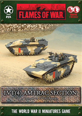 Flames of War: LVT (4) Amtrac Section