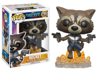 Guardians of the Galaxy: Vol. 2 - Rocket Raccoon (Flying) Pop! Vinyl Figure