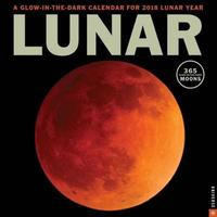 Lunar 2018 Wall Calendar by Universe Publishing