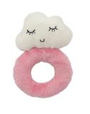 Plush Cloud - Ring Rattle - Pink