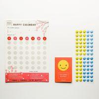 Happy Calendar - Blossom (3 Pack)
