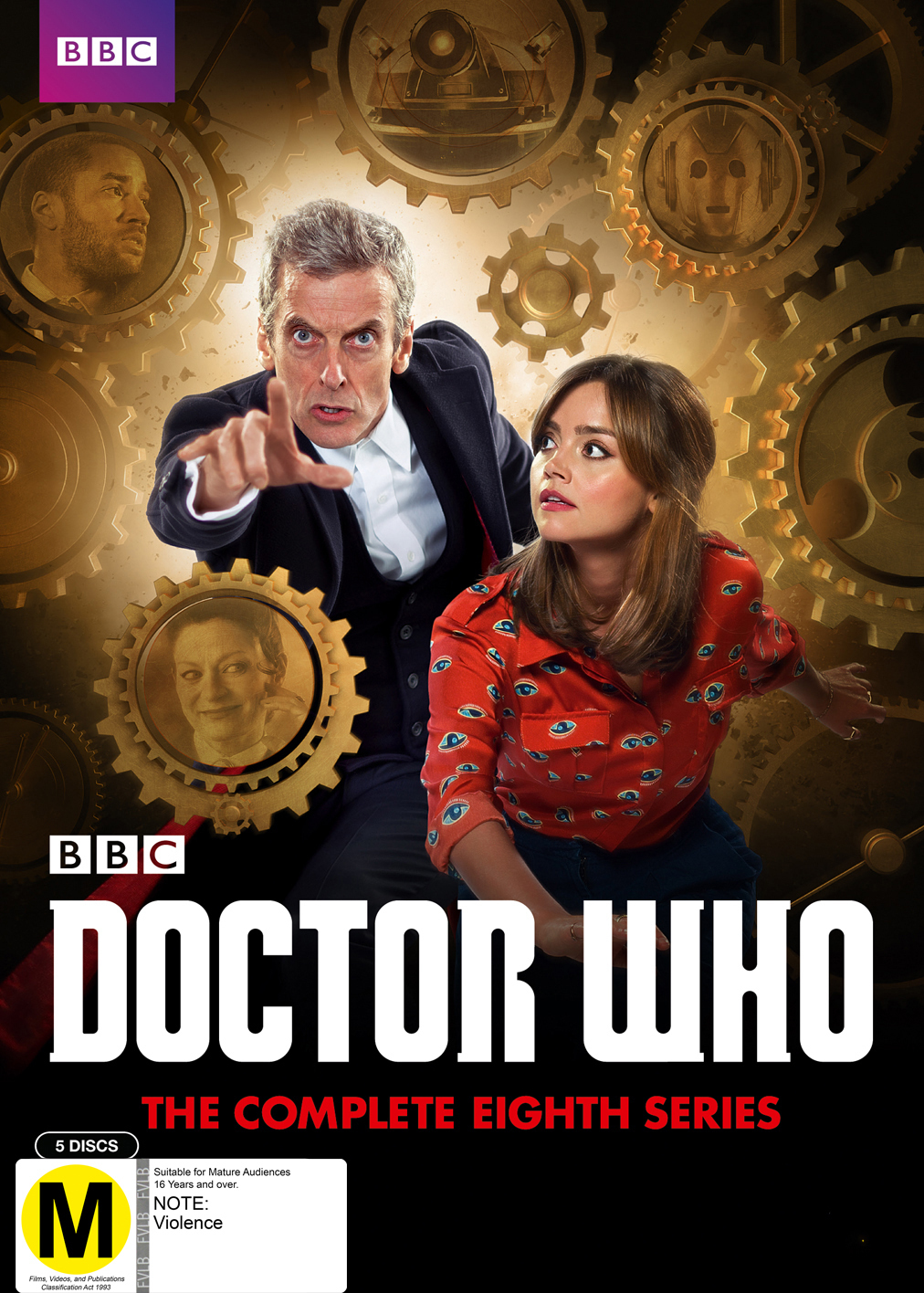 Doctor Who: The Complete Eighth Season on DVD image