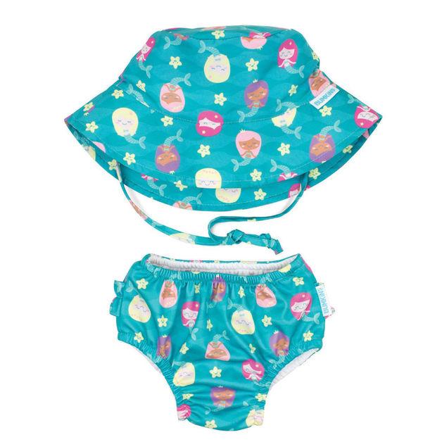 Bumkins: Swim Set - Mermaids (Small/6-12 Months)