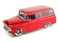 Jada: 1/24 57' Chev Suburban (Red) – Diecast Model