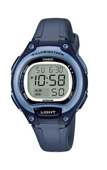 Casio Youth Digital Series Watch Navy - LW-203-2AVDF
