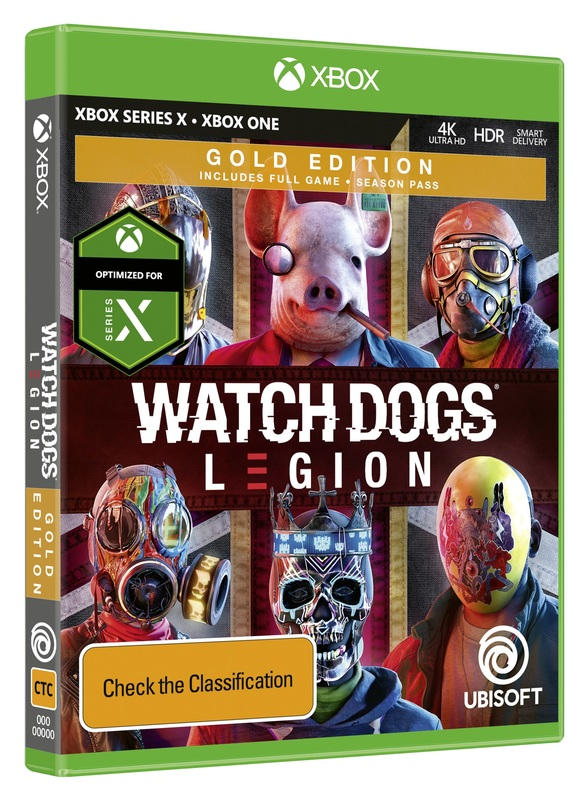 Watch Dogs Legion Gold Steelbook Edition Xbox One Pre Order Now At Mighty Ape Australia