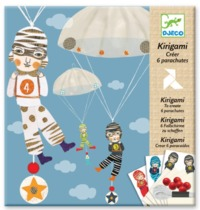 Djeco Design Parachutes - Boys Team