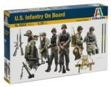 Italeri: 1/35 US Infantry On Board - Model Kit