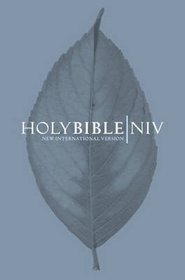 NIV Pocket Bible - Slate by International Bible Society image