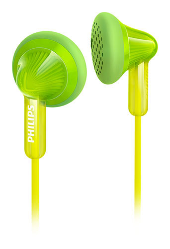 Philips: Earbud Headphone Colourbuds - Green