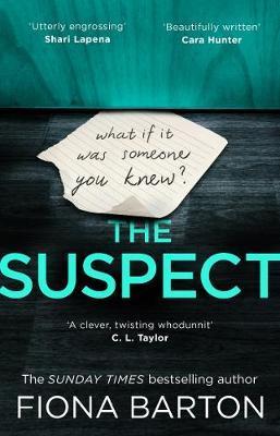 The Suspect by Fiona Barton image