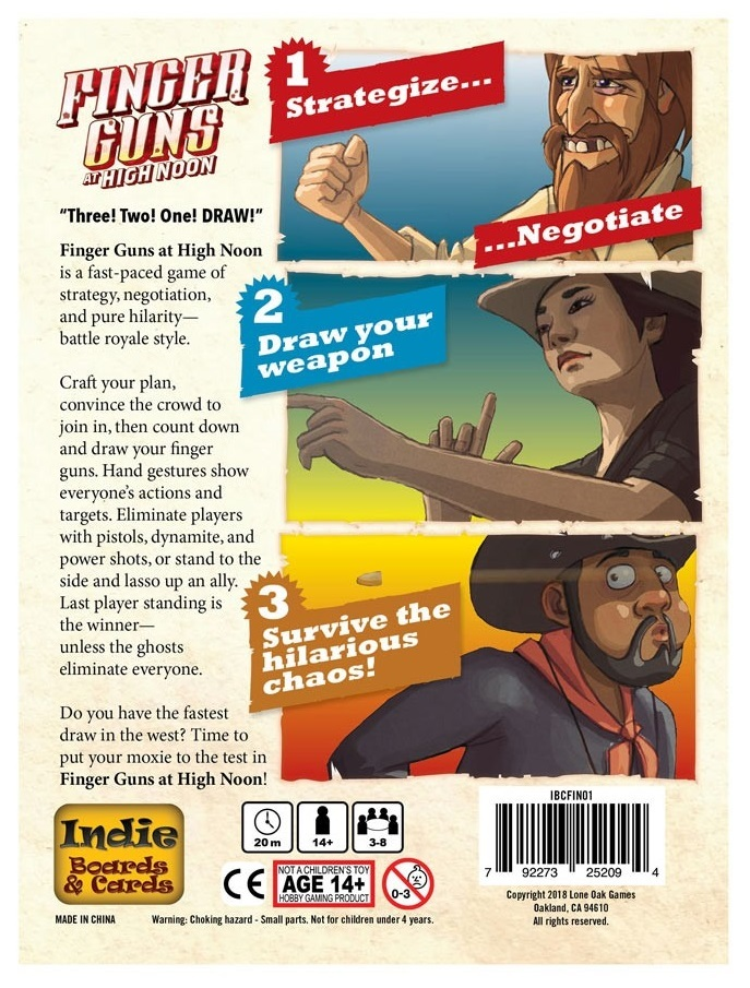 Finger Guns: At High Noon - Party Game image