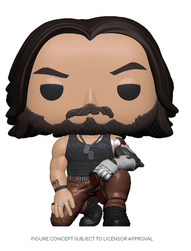 Cyberpunk 2077: Johnny Silverhand - Pop! Vinyl Figure