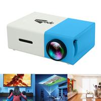 Ape Basics Portable Full Color LED LCD Video Projector - Blue