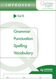 Quickstep English Test B Improver Stage by Sue Hackman