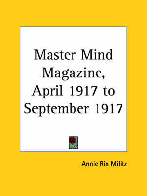Master Mind Magazine (1917): v. 12