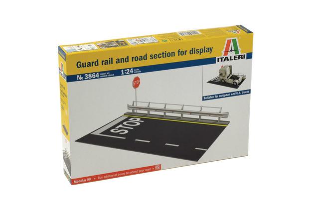 Italeri Guard Rail & Road Section - 1:24 Model Kit