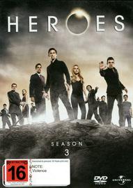 Heroes - Season 3 on DVD