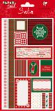 Satin Sticker - Christmas
