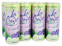 La Croix Curate Sparkling Water - Blackberry Cucumber 355ml Can (8 Pack) image