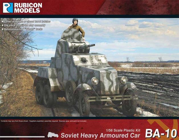 Rubicon 1/56 BA-10 Heavy Armoured Car