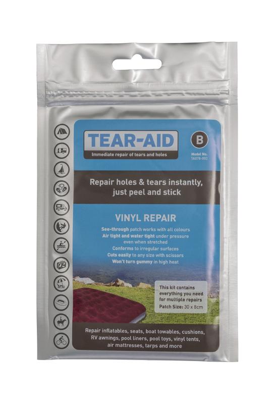 Kiwi Camping Tear Aid Vinyl Repair Kit - Type B