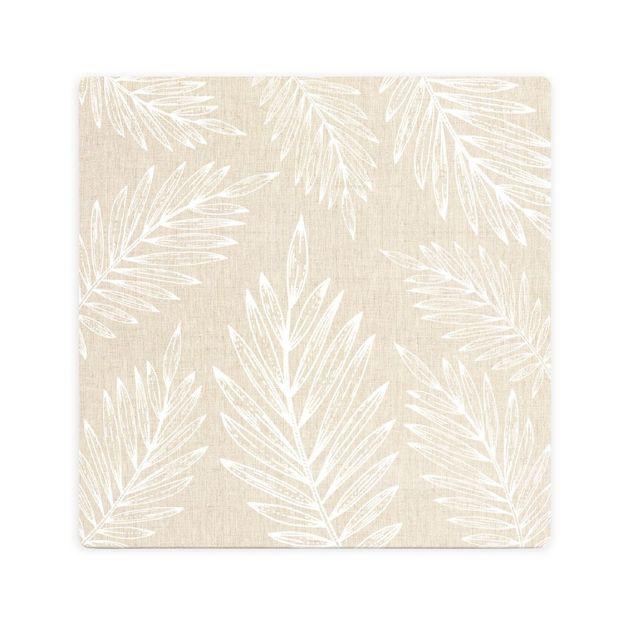 Splosh: Tranquil Beige Leaf Ceramic Coaster
