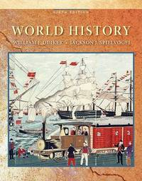 World History by William J Duiker image