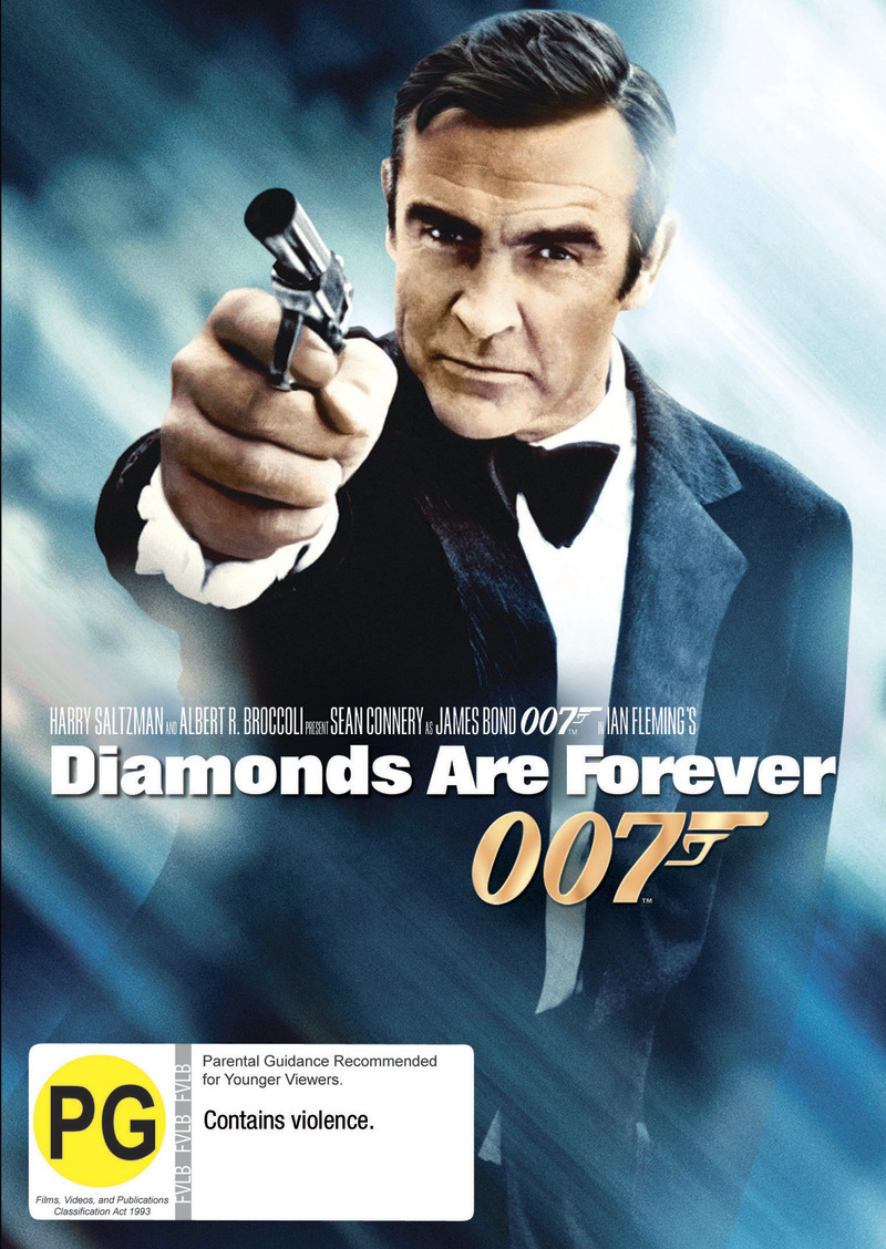 Diamonds Are Forever (2012 Version) on DVD image