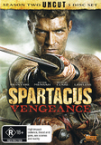 Spartacus Vengeance on DVD
