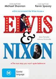 Elvis & Nixon on DVD
