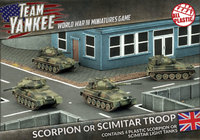 Flames of War: Team Yankee - Scorpion/Scimitar Platoon