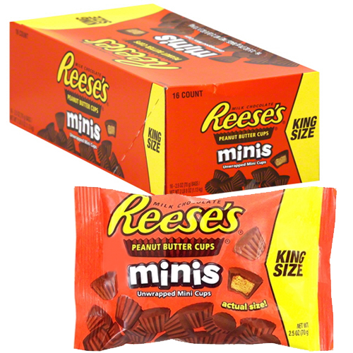 Reese's Peanut Butter Cups Minis (16 x 71g packs)