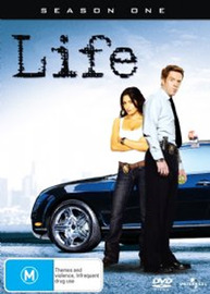 Life - Season 1 (4 Disc Set) on DVD image