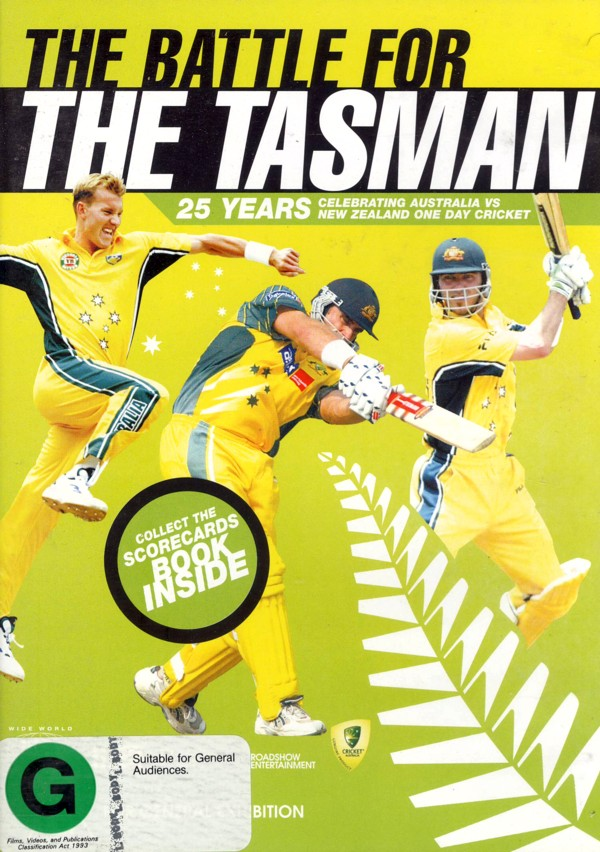 Battle For The Tasman on DVD image
