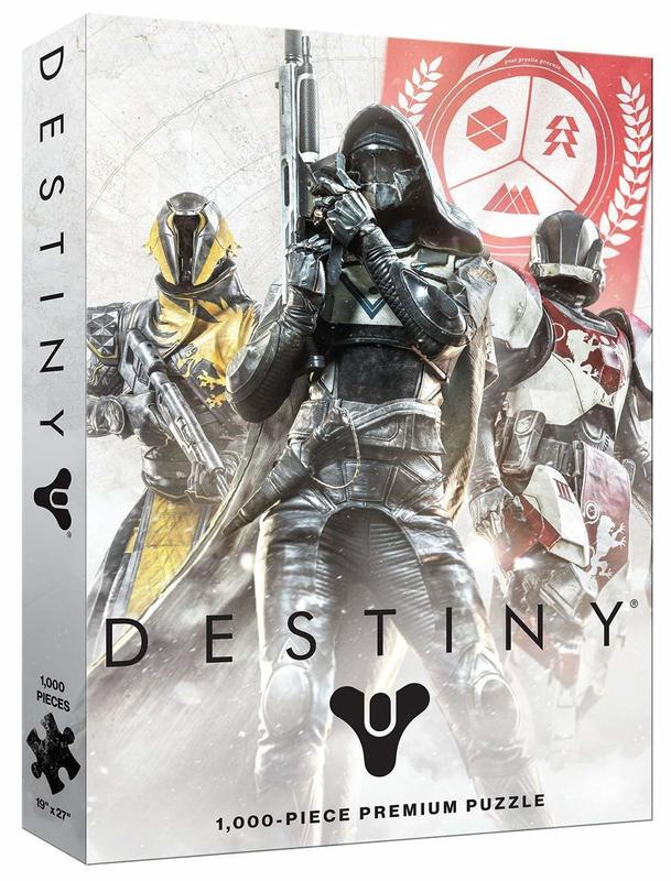 Destiny: 1,000 Piece Puzzle - Guardian Fireteam