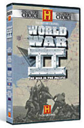 The History Channel's World War II In The Pacific on DVD
