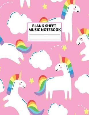 Blank Sheet Music Notebook by Dean Peters Music