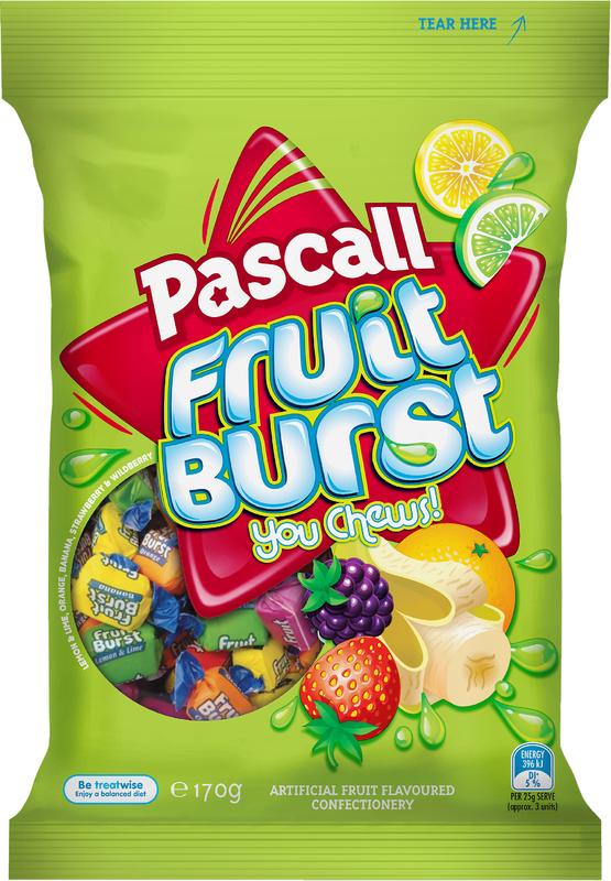 Pascall Fruit Burst (170g)