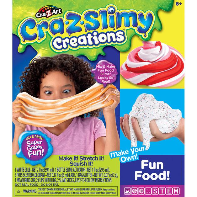 Cra-Z-Slimy Fun Food Slime - Medium Box