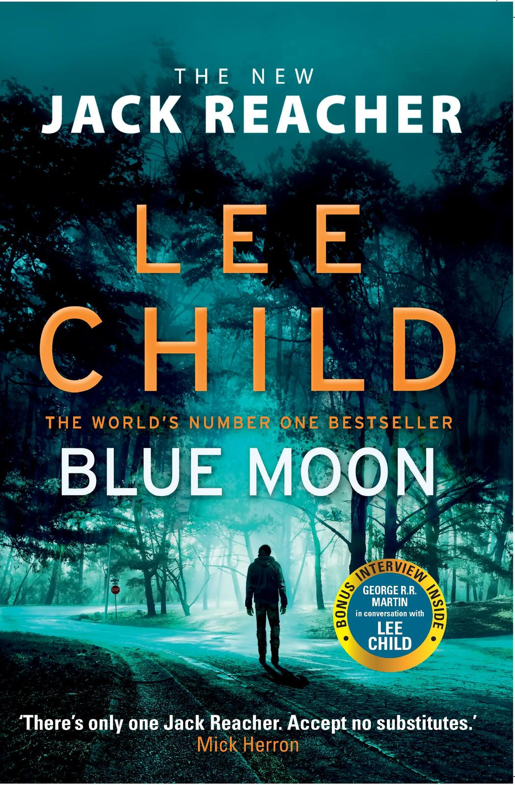 Blue Moon by Lee Child image