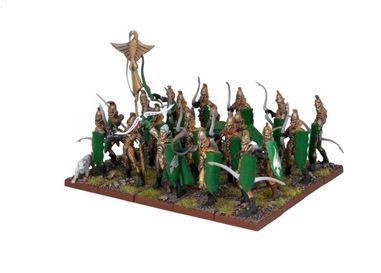 Kings of War Elf Bowmen Regiment image
